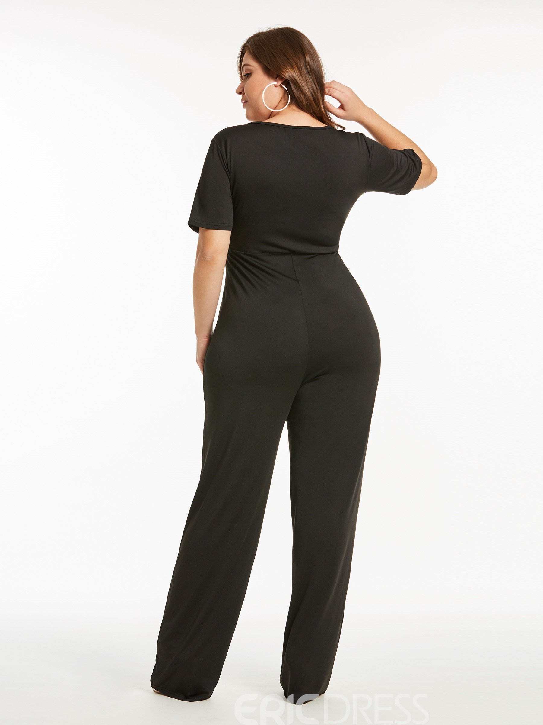 Ericdress Plain Strap Women's Jumpsuit