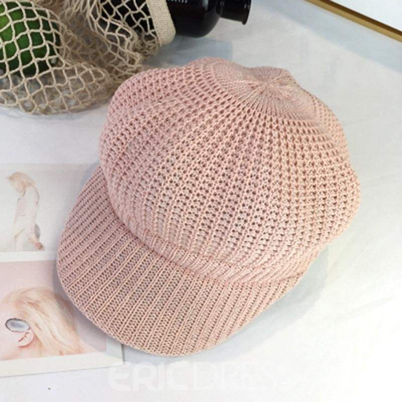 Ericdress Weave Pure Colourful Hat