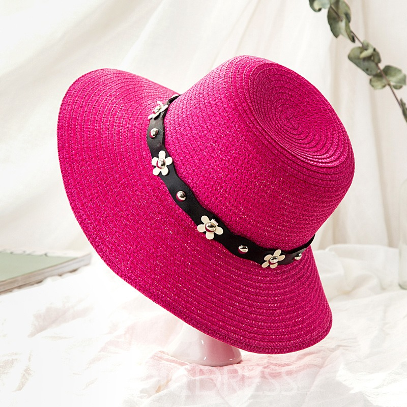 Ericdress Punk Colorful Sunhat