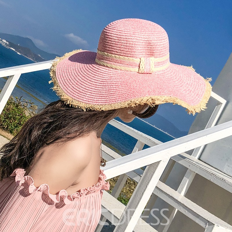 Ericdress Summer Colorful Sun Hat
