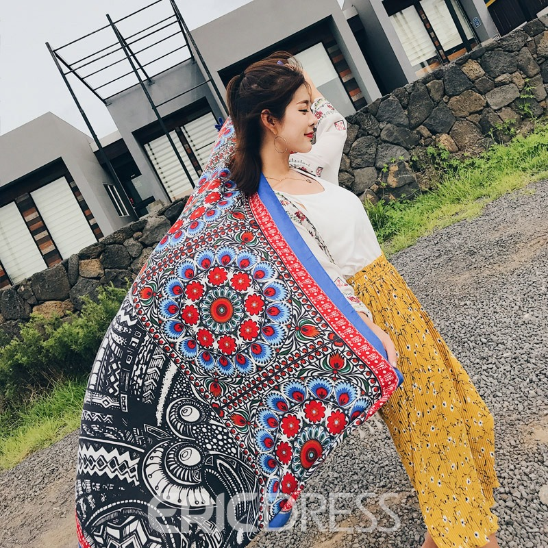 Ericdress 2018 New Style Beach Scarf