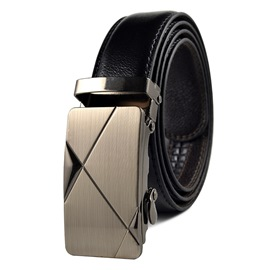 Ericdress Business Steel Fastener Men's Belt