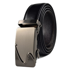 Ericdress Steel Button PU Men's Belt