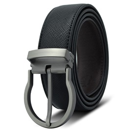 Ericdress Pin Buckle Leather Men's Belt