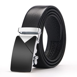 Ericdress Classics Geometric Shape Leather Belt For Men