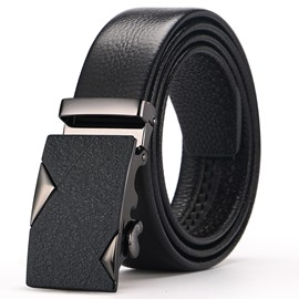 Ericdress Leather Block Men Belt