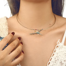 Ericdress Crane Choker Necklace