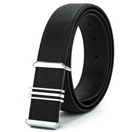 Ericdress Striated Leather Men's Belts