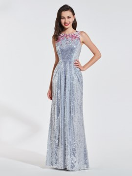 Ericdress Sheath Sequin Prom Dress With Beadings