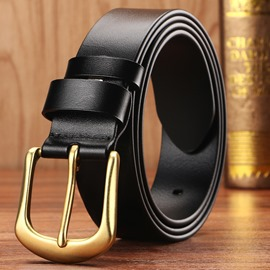 Ericdress Vintage Top Cowhide Leather Men's Belt