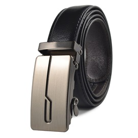 Ericdress Leather Buckle Men's Belt