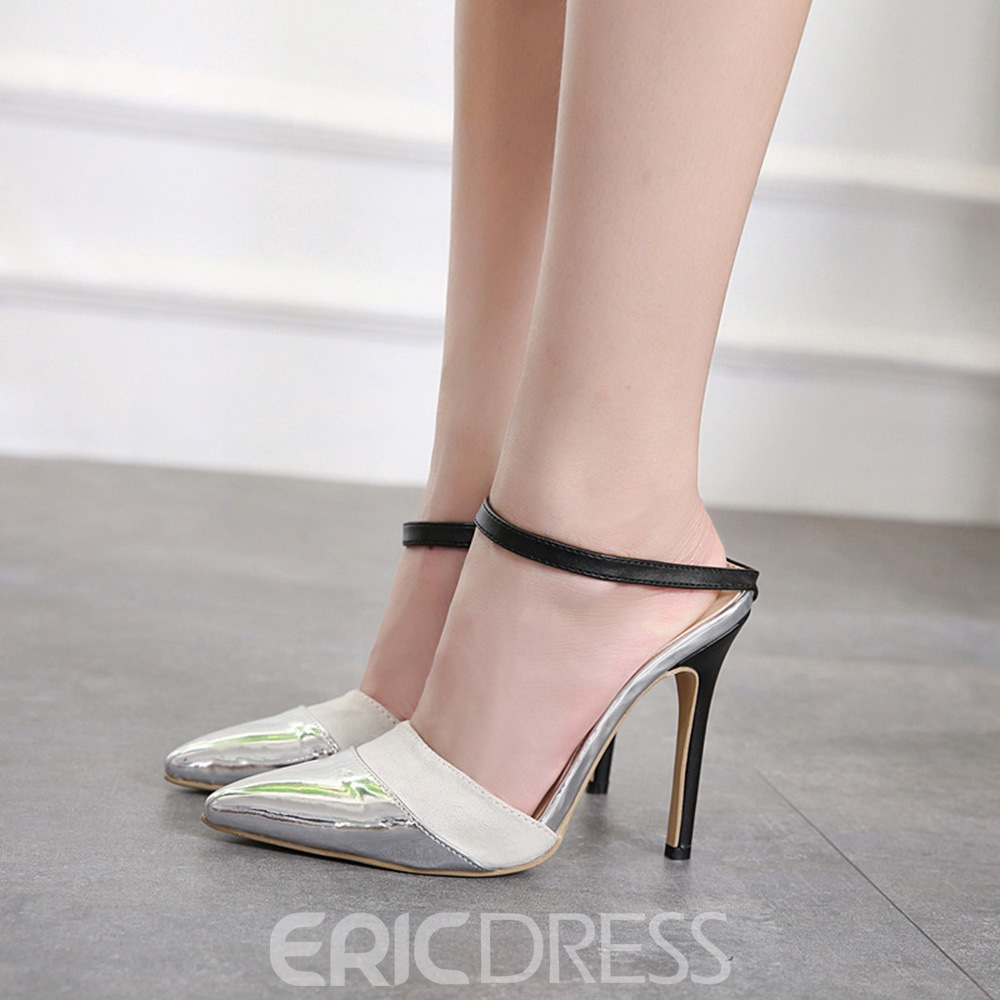 Ericdress Pointed Toe Stiletto Heel Women's Sandals