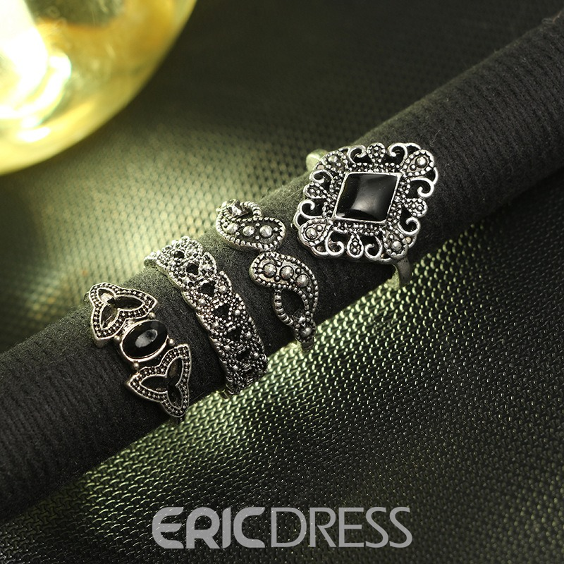 Ericdress Lotus Vintage Women Ring