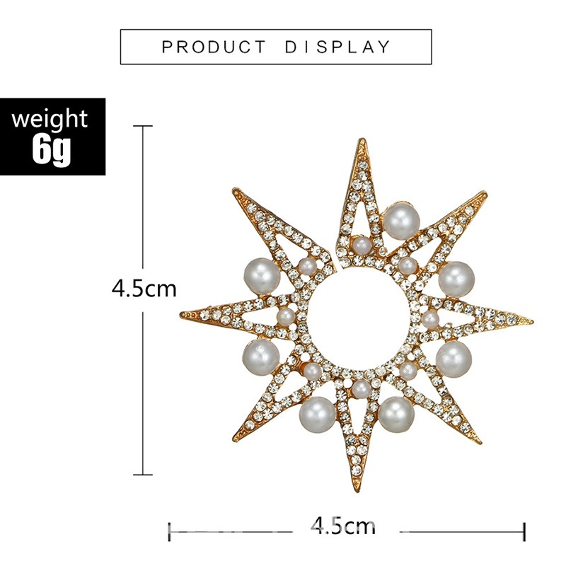 Ericdress Star Pearl Shining Earring(just one earring)