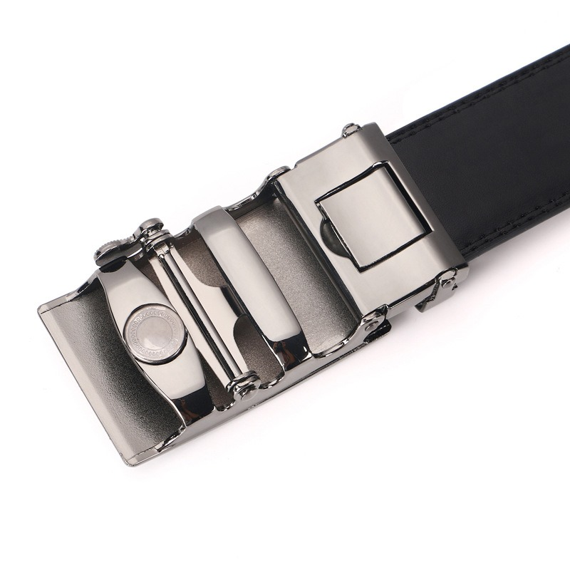 Ericdress Leather Automatic Buckler Leather Genuine business Men's Belt