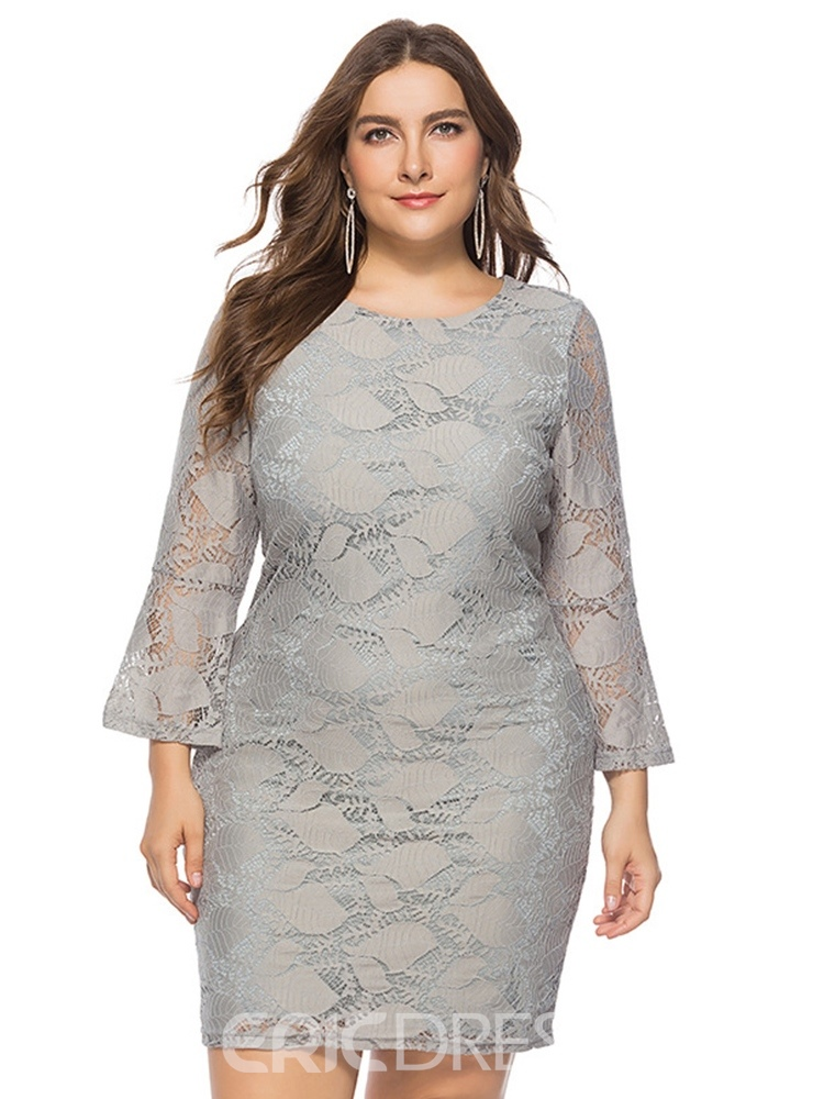Ericdress Lace Above Knee Bodycon Dress