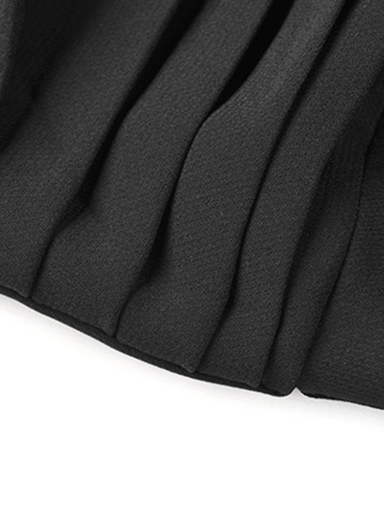 Ericdress V-Neck Plain Sleeveless Women's Little Black Dress