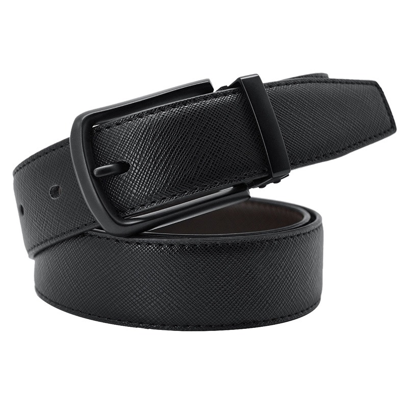 Ericdress Pure Black Cool Men's Belt