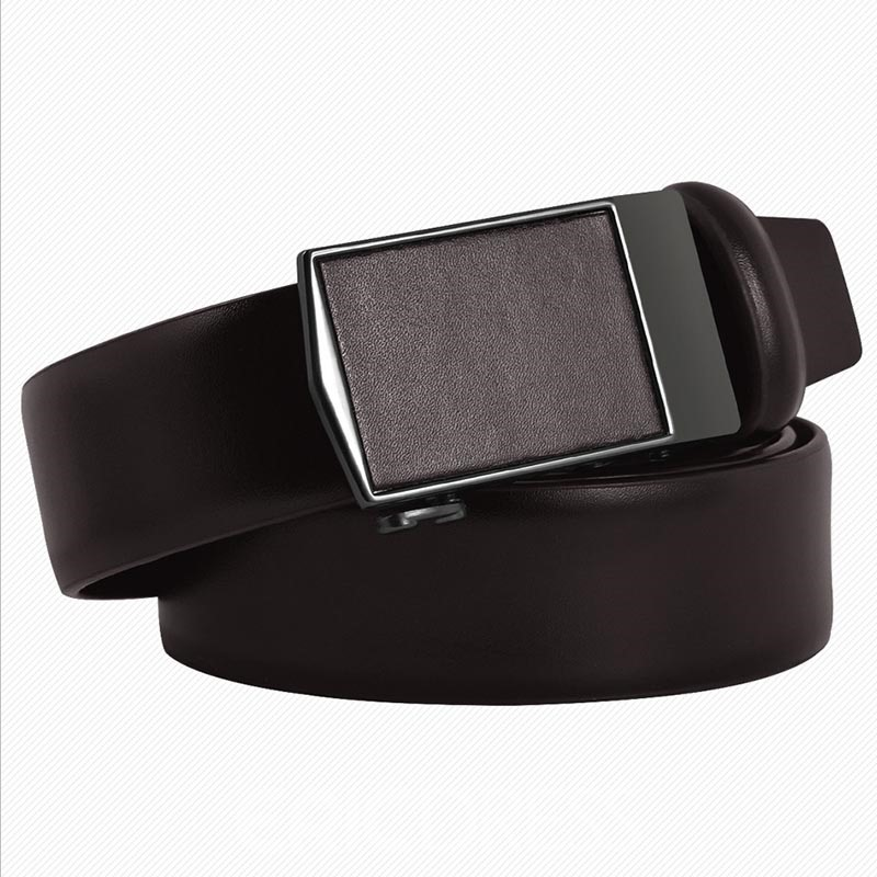 Ericdress Cowhide Automatic Buckle Belt