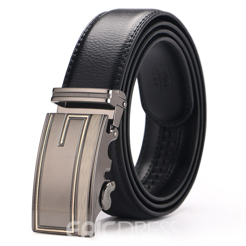 Ericdress Business Leather Belts For Man