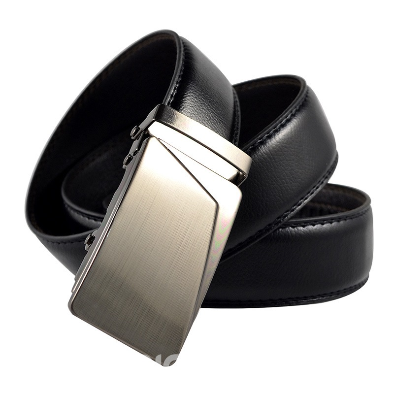 Ericdress Metal Bales Catch Men's Belt