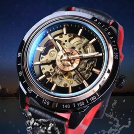 Ericdress Automatic Mechanical Business Belt Watch
