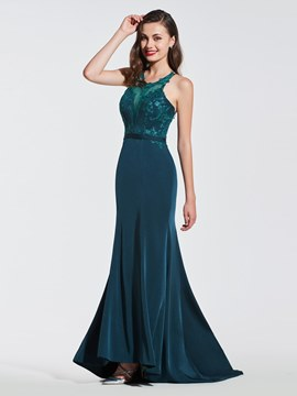 9c01d9fb81d Ericdress Mermaid Backless Prom Dress
