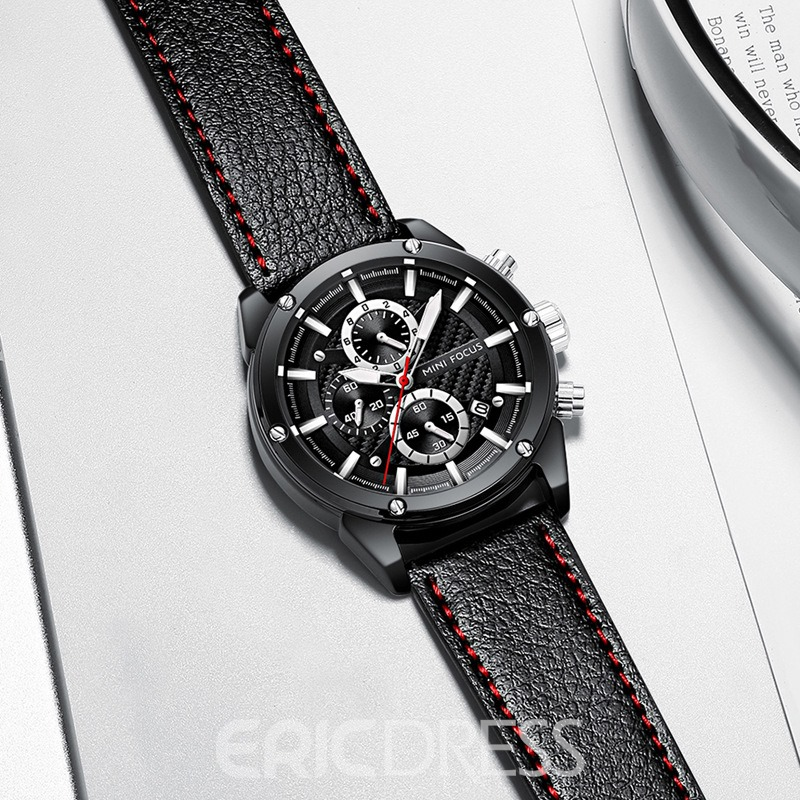 Ericdress Casual Quartz Fashion Business Small Three Needle Men's Watch