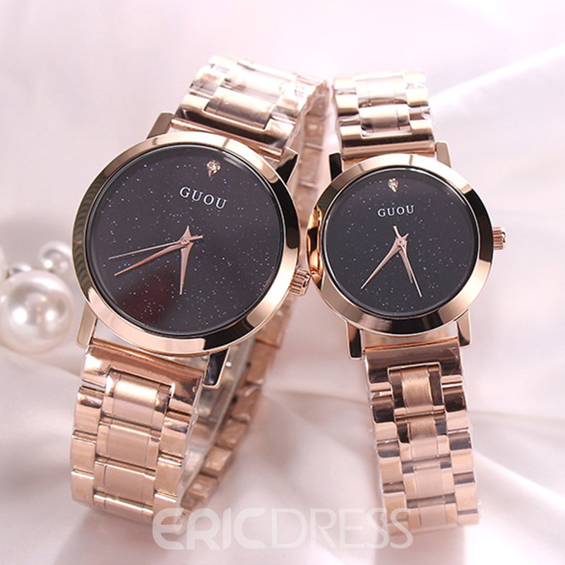 Ericdress Sky Steel Band Watch