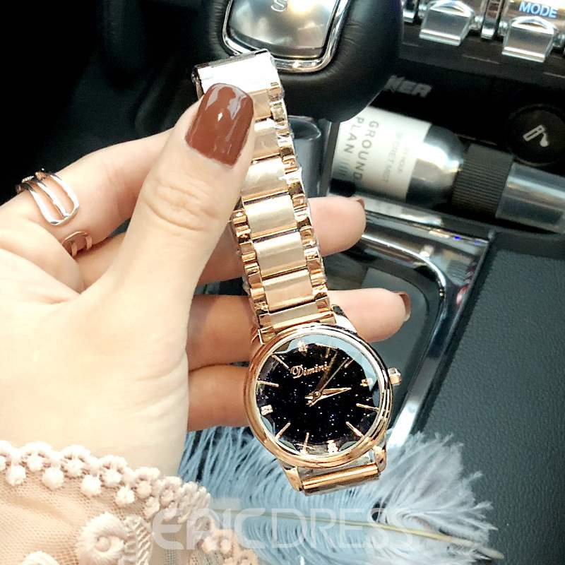 Ericdress Quartz Hardlex Shining Watches