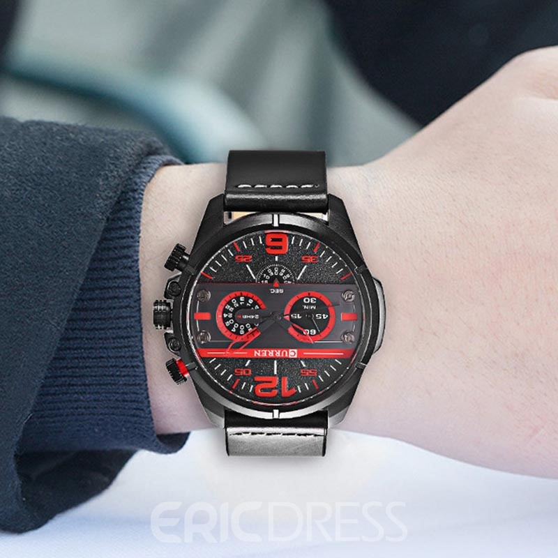 Ericdress Large Dial Personality Fashion Men's Watch