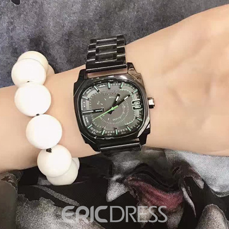 Ericdress MiNi Square Luminous Watch For Women
