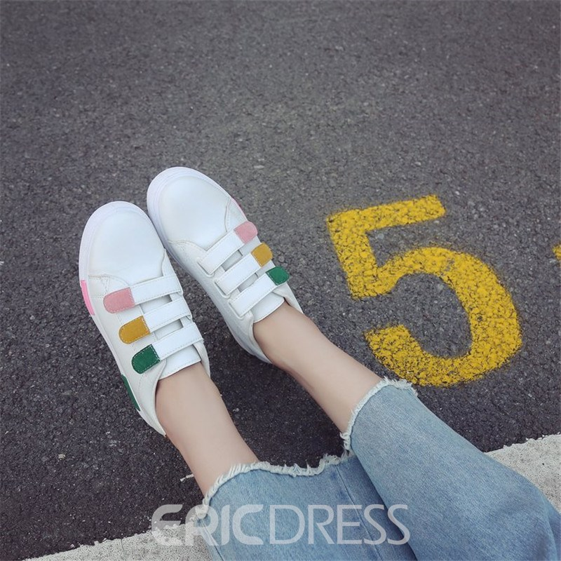 Ericdress Color Block Velcro Women's Sneakers
