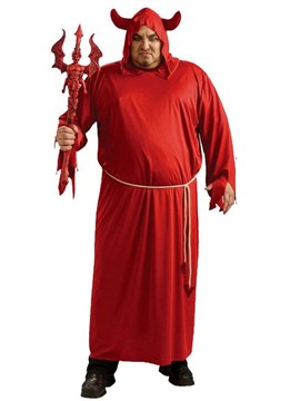 Ericdress Hell Red Devil Halloween Costume without Prop on Hand