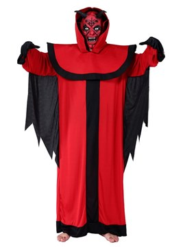 Ericdress Dark Red Devil Halloween Costume