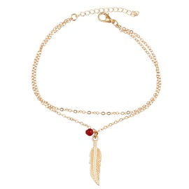 Ericdress Feather Anklet