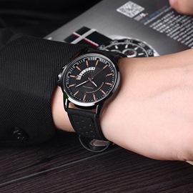 Ericdress Leather Quartz Man's Watch