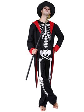 Ericdress Black Robe Wizard Halloween Costume