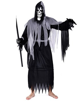 Ericdress Grim Zombie Halloween Costume without Prop on Hand
