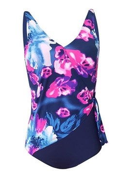 Ericdress Floral abstract Plus-Size Monokini