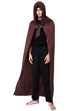 Ericdress Easter Gravekeeper Halloween Costume Hooded Cloak