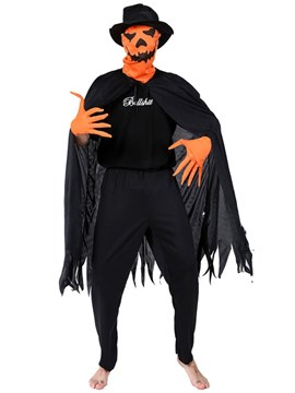Ericdress Adult Pumpkin Monster Halloween Costume