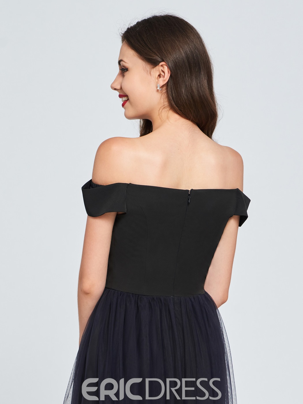 Ericdress A Line Off The Shoulder Fading Color Homecoming Dress