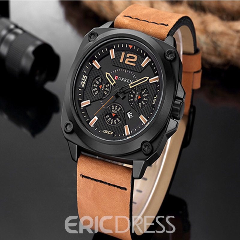 Ericdress PU Sport Mechanical Watch