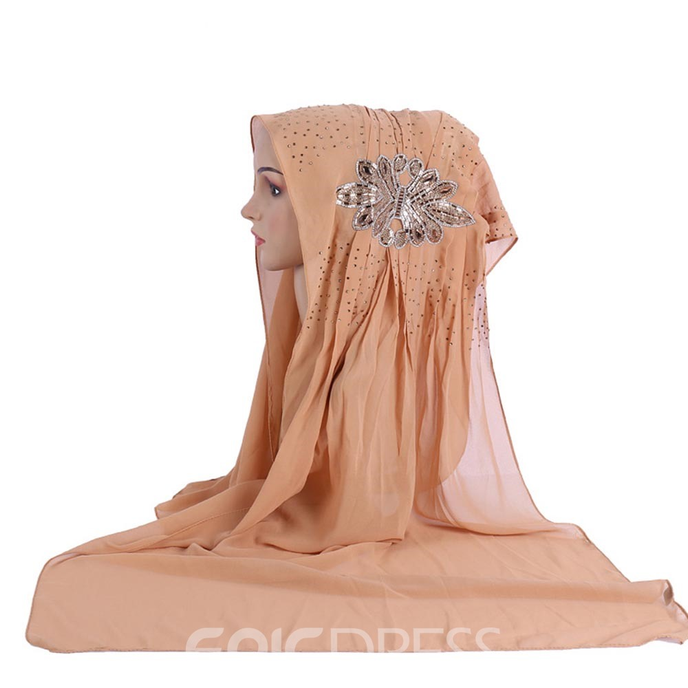 Ericdress Diamante Muslim Kerchief