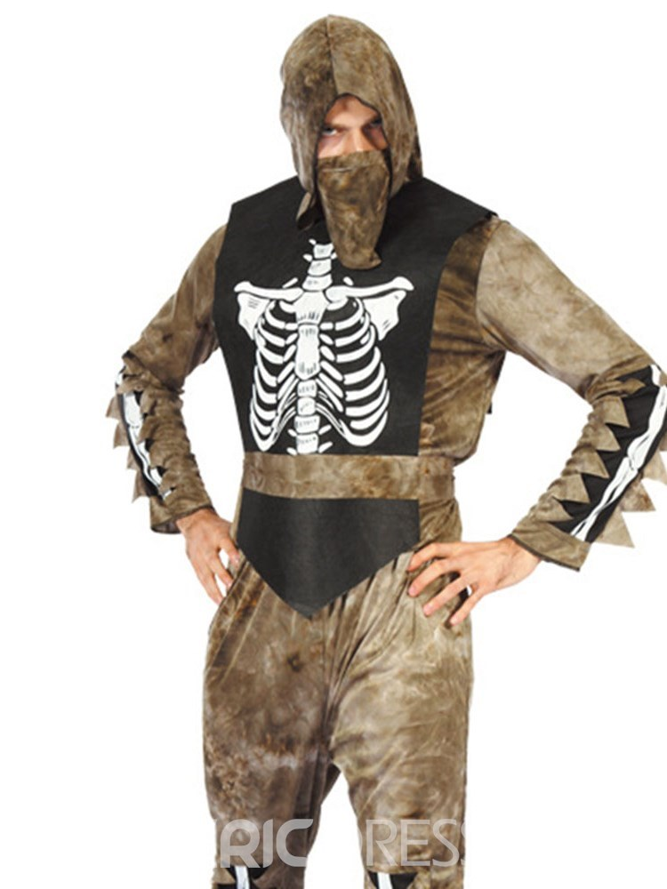 Ericdress Skull Ninja Slayer Halloween Costume