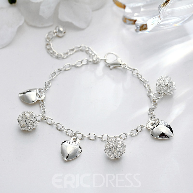 Ericdress Silver Cute Anklet