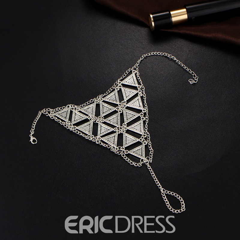 Ericdress Geometric Bohemian Style Anklet