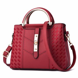 Ericdress Plain Geometric Women Handbag