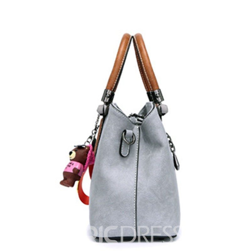 Ericdress Casual Color Block Medium Handbag